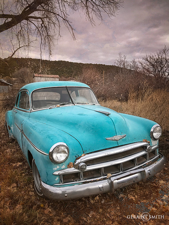 Chevrolet on the High Road to Taos