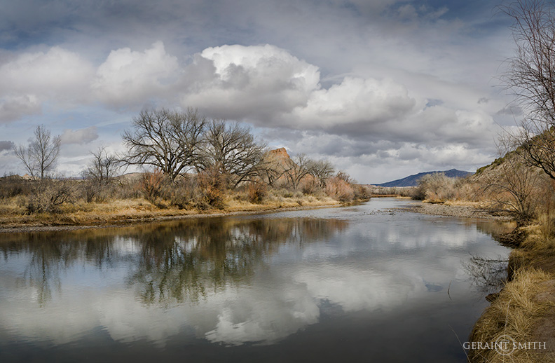 The Rio Chama, Abiquiu, New Mexico
