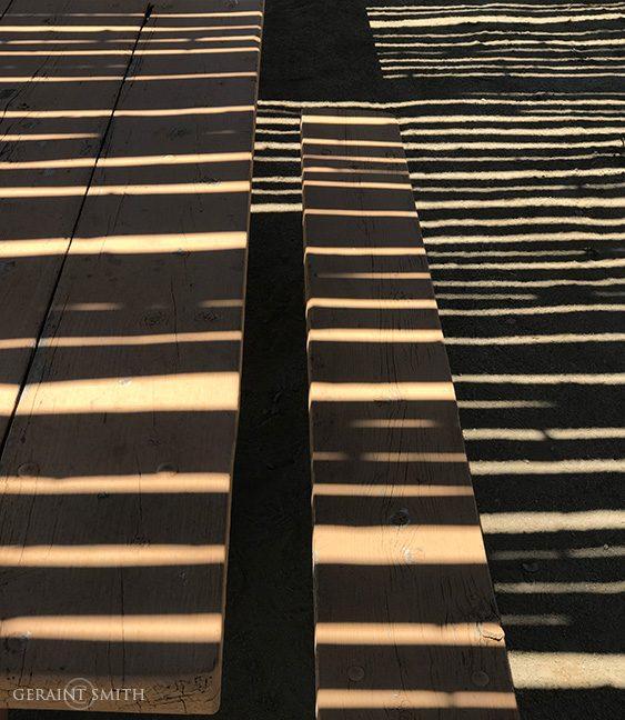 Ramada Shadows Chaco Canyon