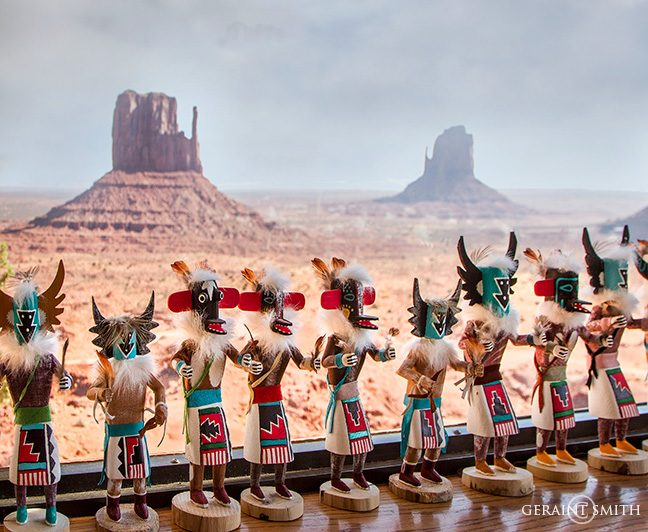 Monument Valley Gift Shop Kachinas