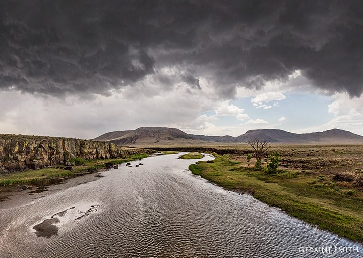 Storm Clouds Over The Rio Grande