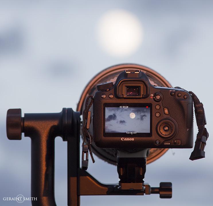 Full Moon Camera View