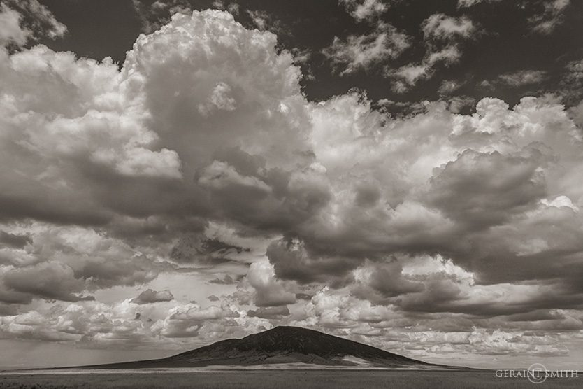 Ute Mountain Clouds, Northern New Mexico