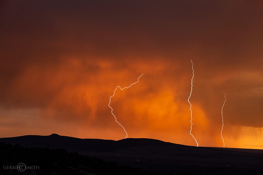 Three Lightning Strikes