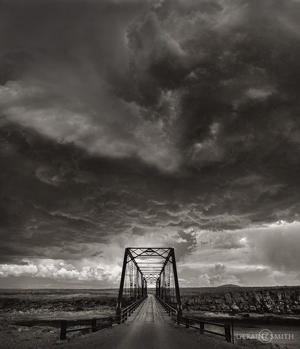 Lobatos Bridge, Across The Rio Grande