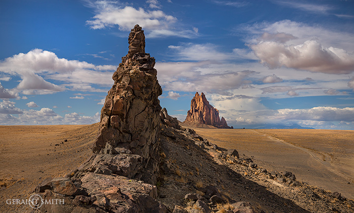 On The Shiprock Dike, Northern NM