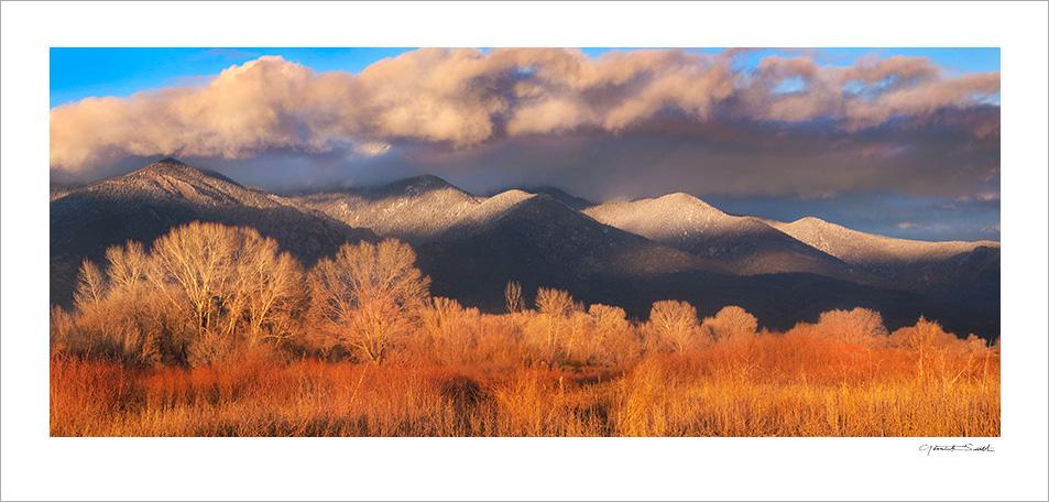 Taos Mountain Sunset 1741_1744