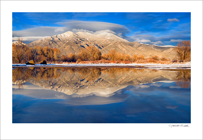 Taos Mountain Reflections