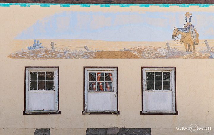 Estancia, New Mexico, Building Mural