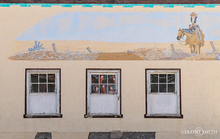 Estancia, New Mexico, Building Mural