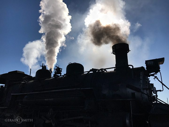 Cumbres And Toltec Steam Locomotive
