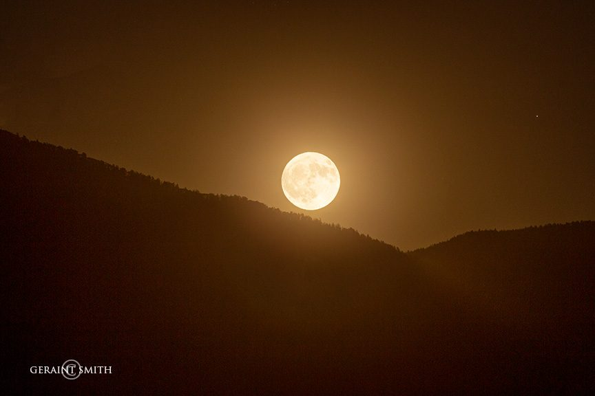 Full Harvest Moon, San Cristobal, NM