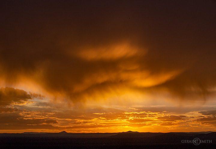 Nature's Banquet, Sunset Taos Plateau