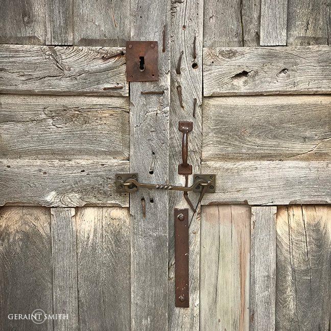 Door, Cut Nails, Steel Hardware