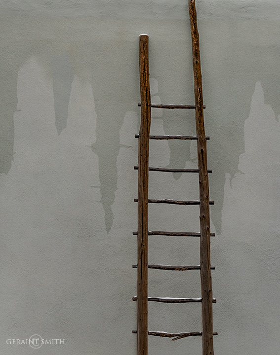 Roof Ladder, Arroyo Seco, New Mexico