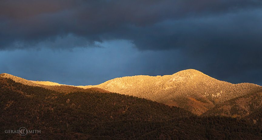 First Snow On The Sangre De Cristos, NM