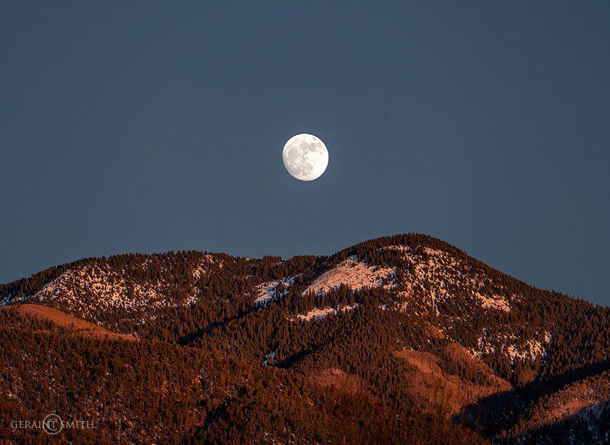 Bright Moon Over The Sangre de Cristos