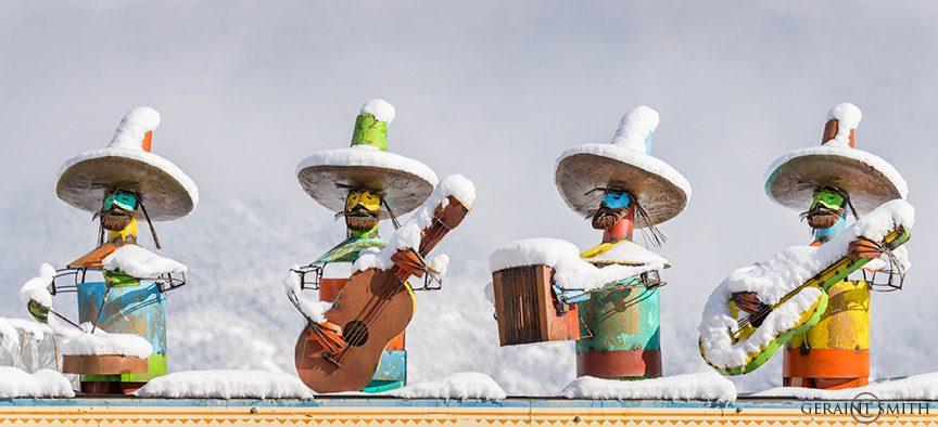 Rooftop Musicians, El Prado, NM