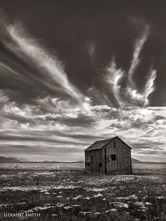 Black And White In The San Luis Valley