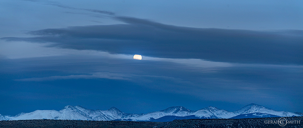 Winter Solstice Moonrise