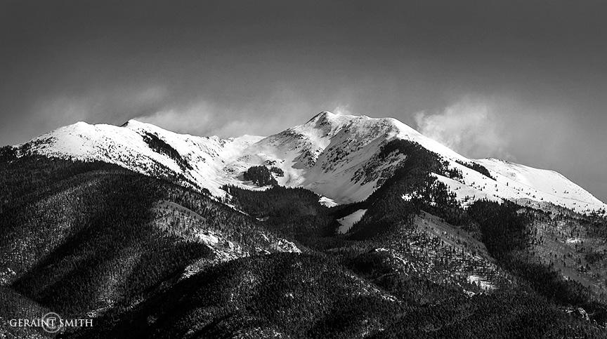 Wind Whipping Snow, Vallecito Peak