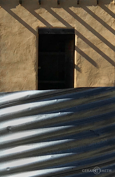 Culvert, Adobe Shadows, San Cristobal