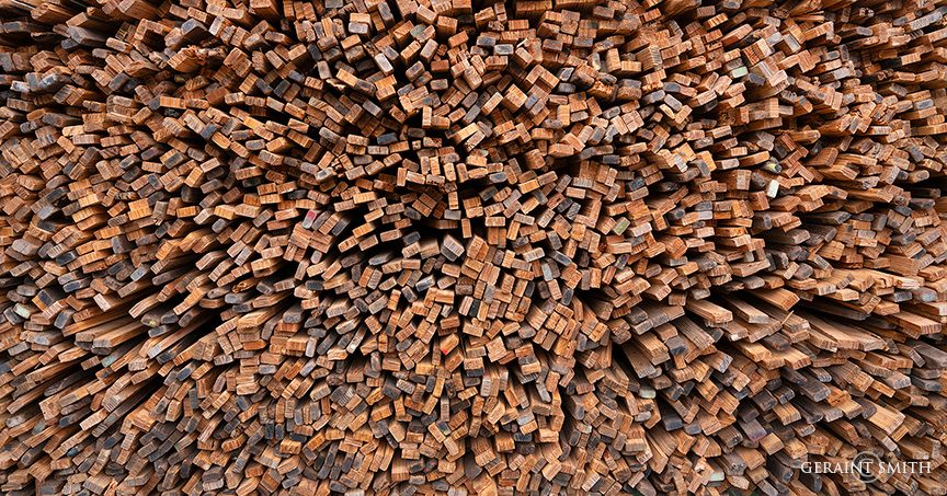 Kiln Sticks, Blanca Sawmill, Colorado