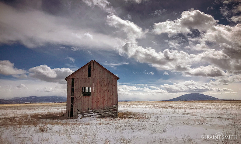 Rural Colorado, Ute Mountain Barn