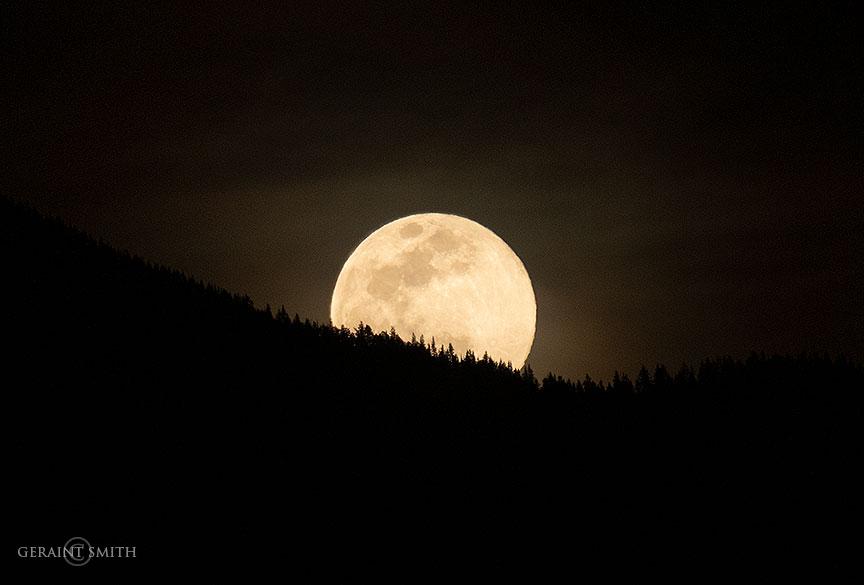 Spring Equinox, Moon Rise