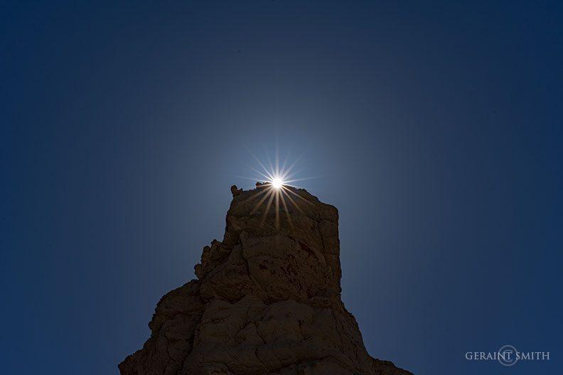 Sunrise Plaza Blanca, Abiquiu, NM