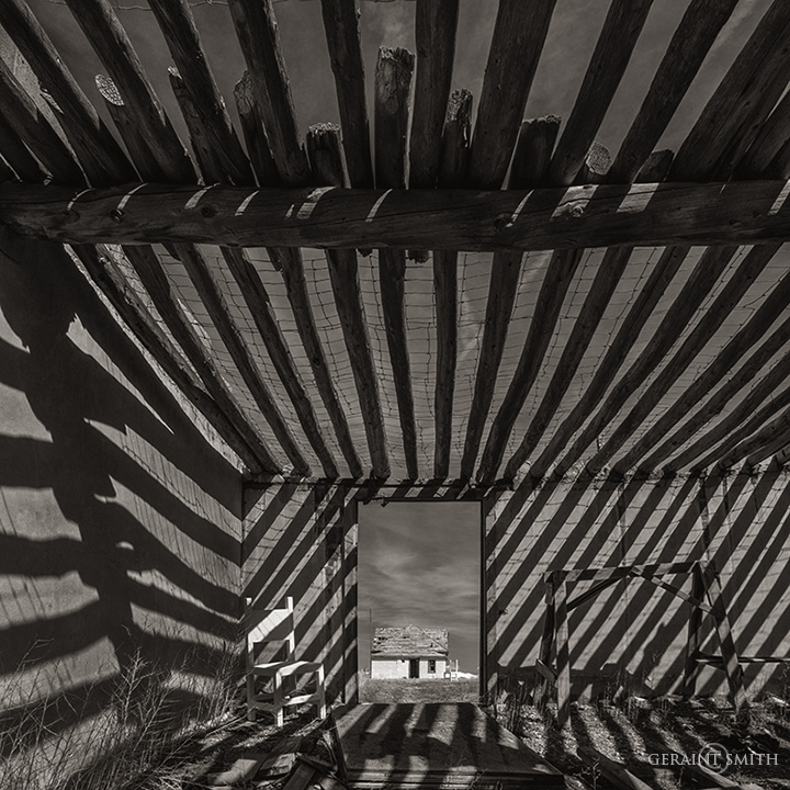 Ghost Chair, Shadows, San Luis Valley Homestead.