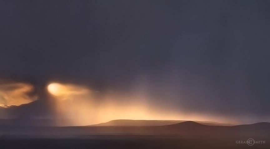 Taos Volcanic Field Sunset