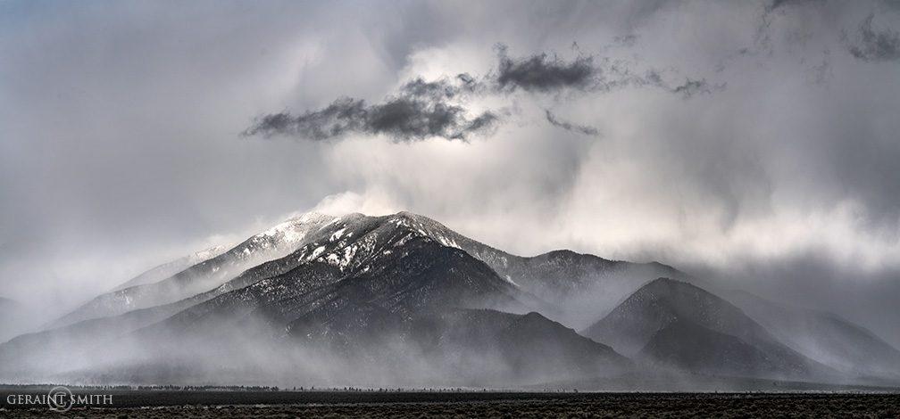 Mist Rising On Taos Mountain