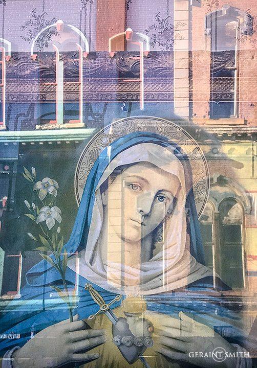 Window Reflections, Las Vegas, NM