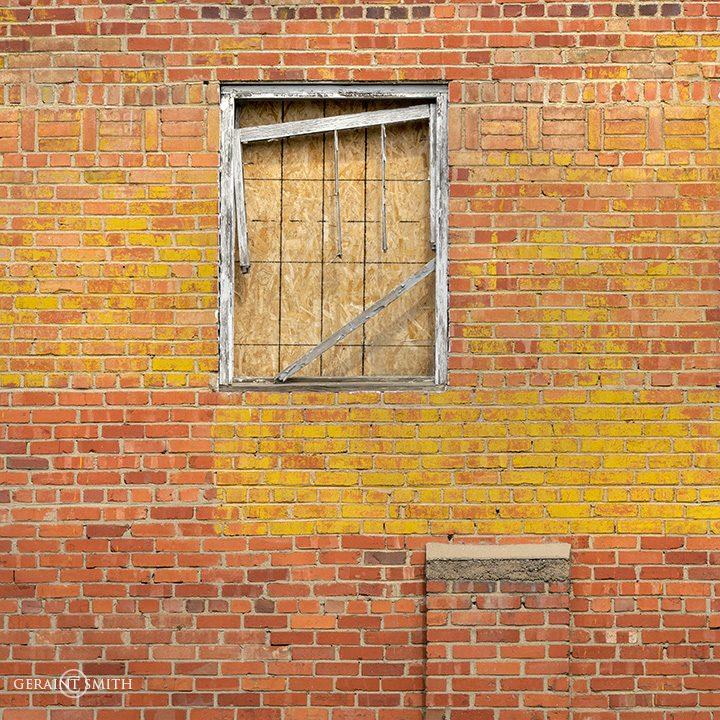 Yellow Brick Wall Trinidad, Colorado