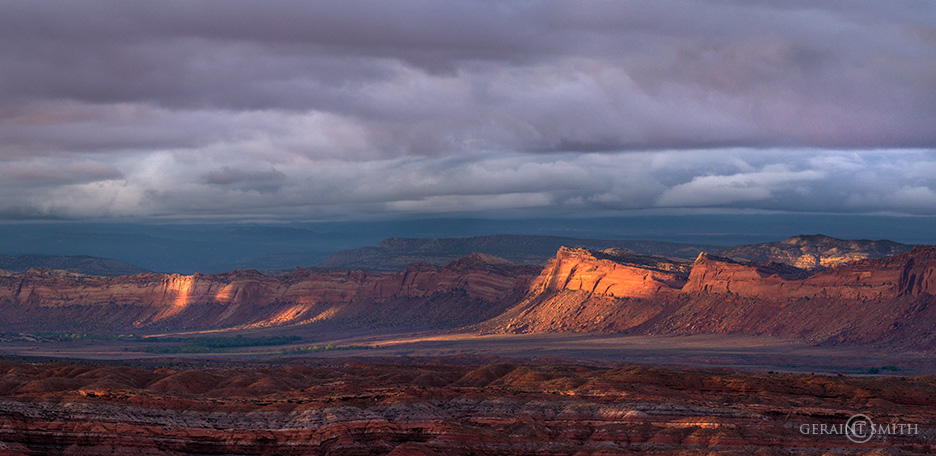 Comb Ridge, Utah, Last Light