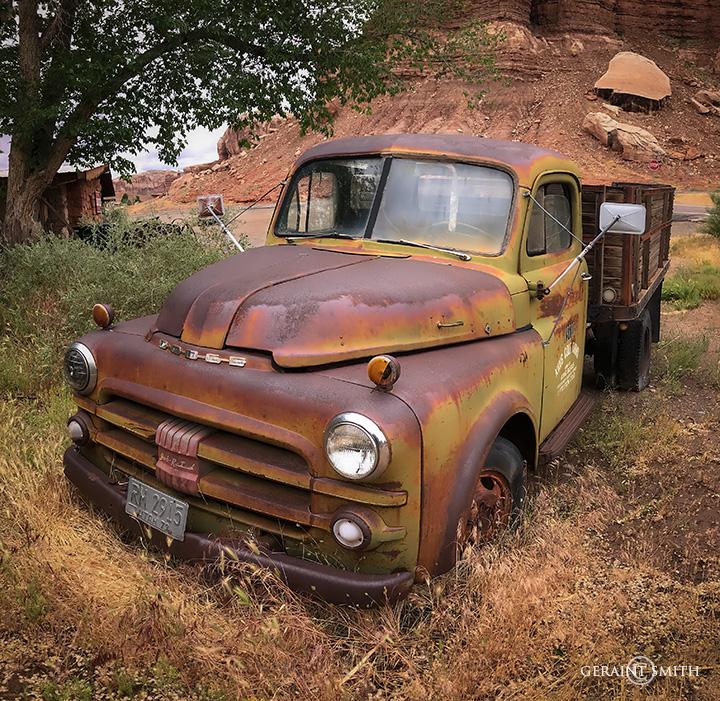 Dodge Truck, Bluff, Utah