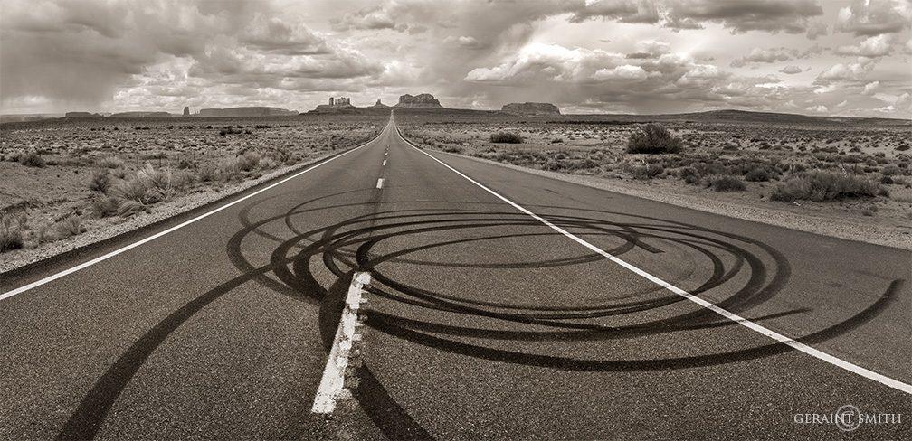 Highway 163, Monument Valley, Arizona
