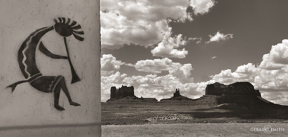 Monument Valley, Roadside Kokopelli