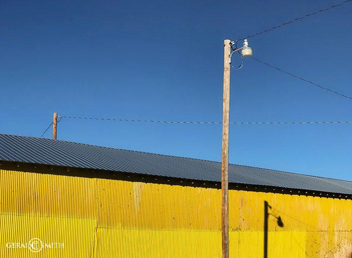 Yellow in Wagon Mound, NM.