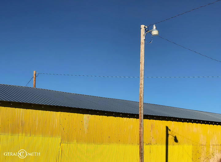 Yellow in Wagon Mound, NM.