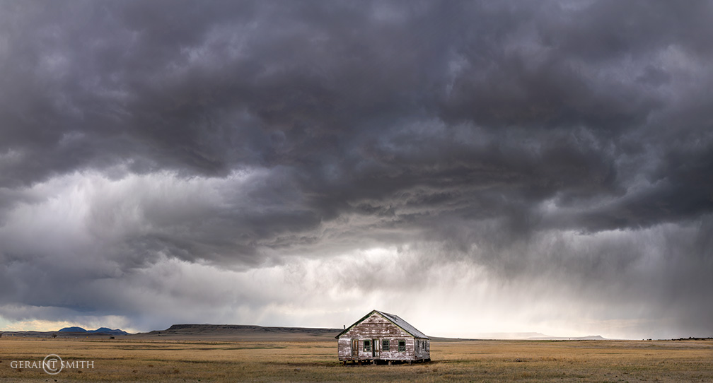 Little house on the plains, Capulin, NM.