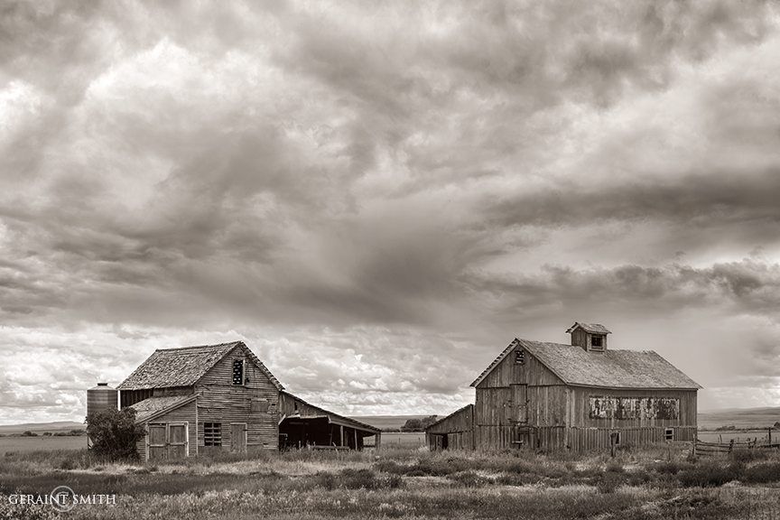 Barns, Storms, Capulin, Colorado