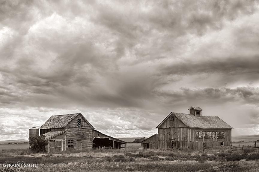 Barns, Storms, Capulin, Colorado