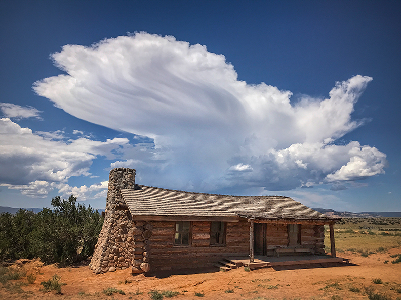 Curly's Cabin, Ghost Ranch, NM