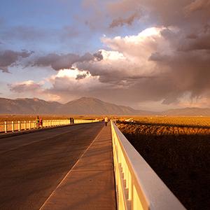 Photo Archive, Rio Grande Gorge Bridge and Taos Mountain