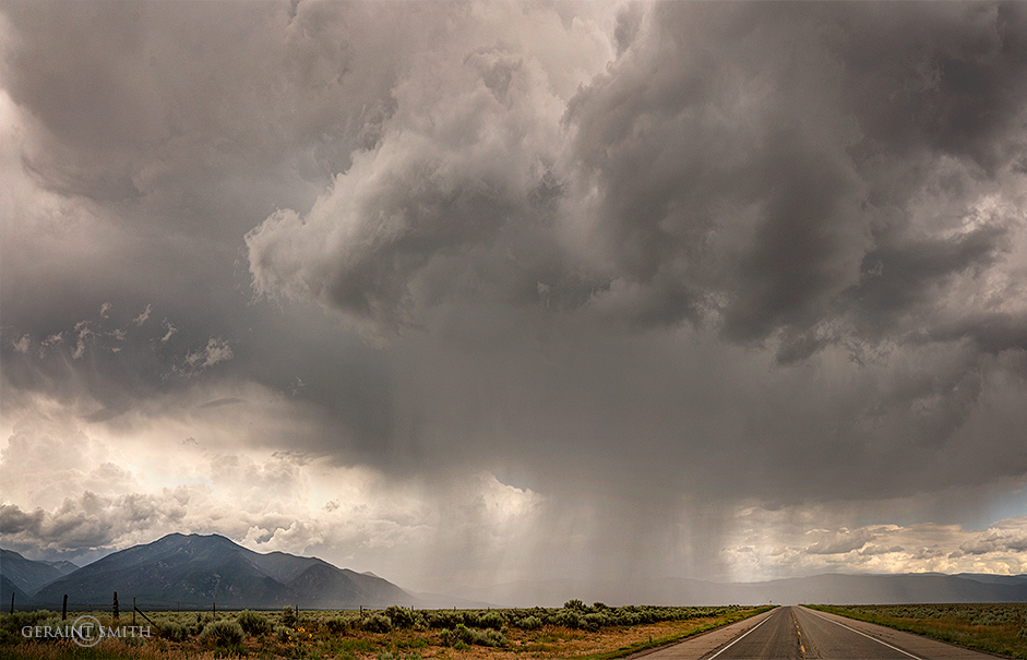 Monsoon afternoons and evenings in Taos and beyond.