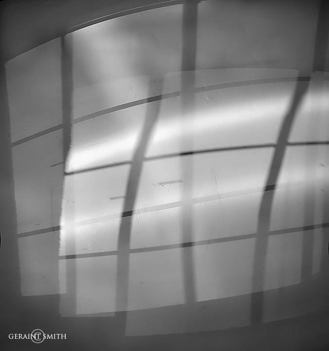 Window Light, Shadows, Downtown Taos
