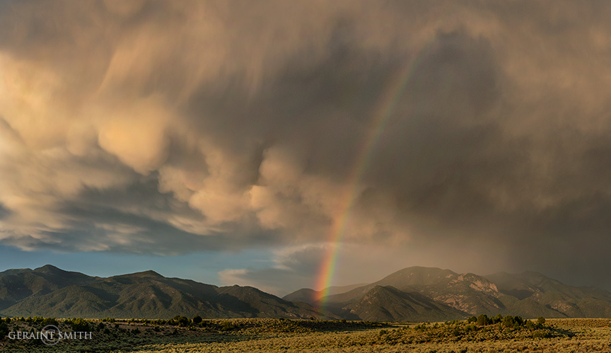Rainbow, Taos Mountains