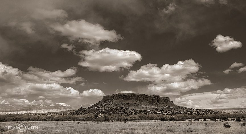 Black Mesa, San Ildefonso, NM
